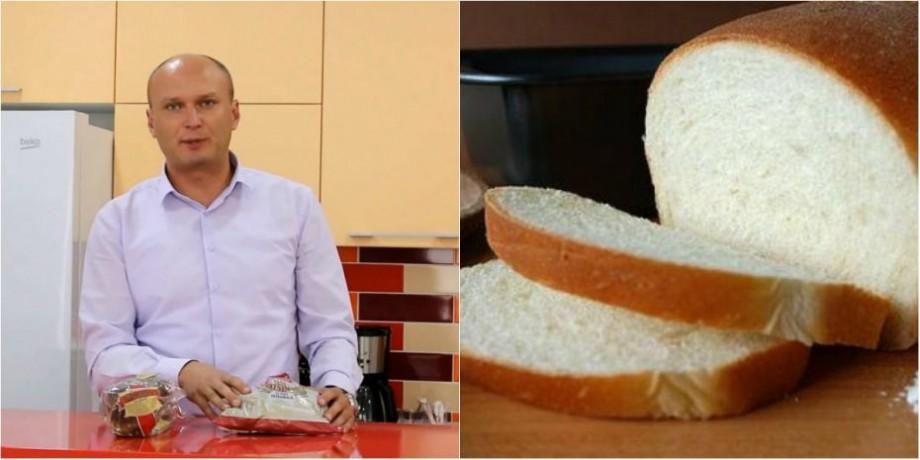(video) Pâinea – un produs gustos, necesar însă dăunător, dacă îl cumperi alandala. Ce spune nutriționistul Sergiu Munteanu