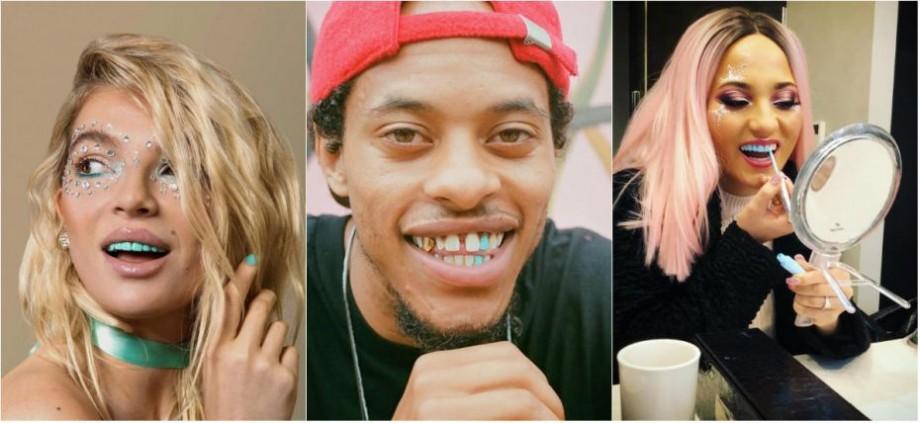 (foto) Oamenii au inventat un nou beaty style care devine viral pe Internet. Aceștia își colorează dinții în diferite culori