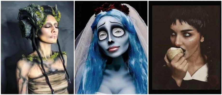 (foto) Începând de la tradiționalele vrăjitoare și până la eroi de povești. Cum s-au deghizat moldovenii în seara de Halloween