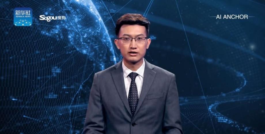 (video) Primul prezentator TV cu inteligență artificială va activa în China. Acesta seamănă perfect cu un om real