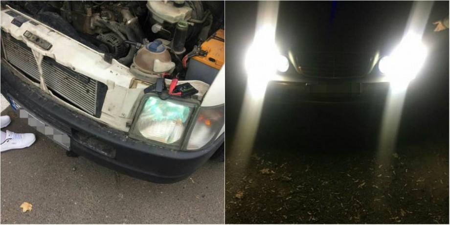 Ai faruri de tip xenon instalate la mașină? Ce amendă riști dacă ești prins de poliție
