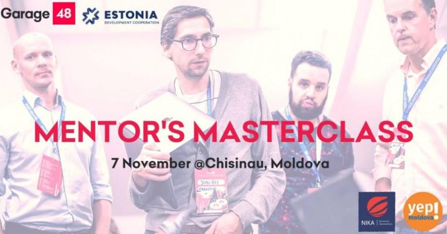 Expert sau mentor? Participă și află diferența la Mentor's masterclass