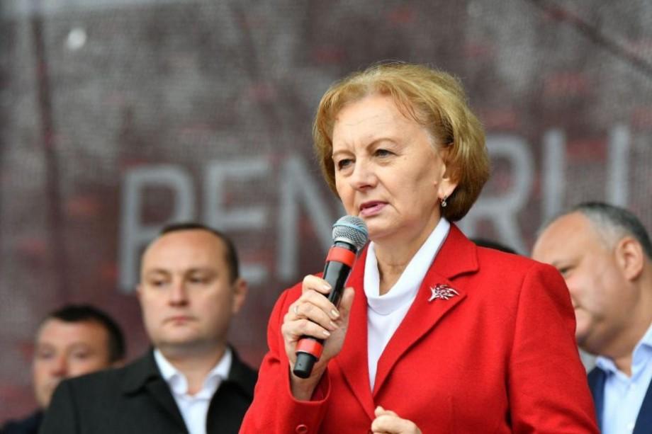 """""""Trebuie să ne unim și totul ne va reuși"""". Zinaida Greceanîi va candida pentru funcția de deputat pe circumscripția electorală Briceni nr.1"""