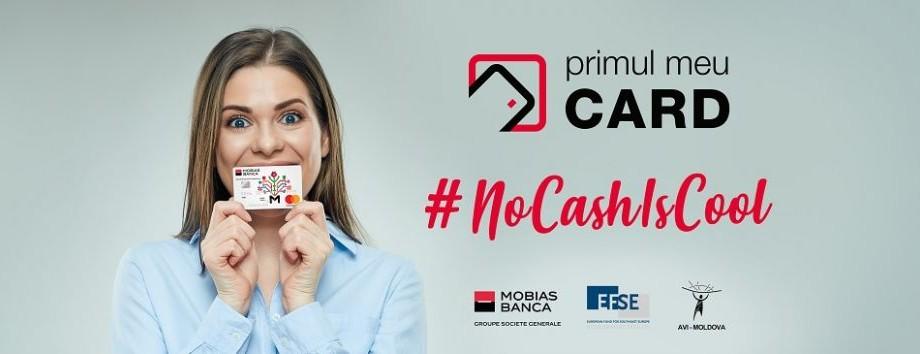"""#NoCashIsCool """"Primul meu Card"""" te invită să afli totul despre cum îți creezi un card bancar și cum gestionezi corect finanțele încă din anii de liceu"""