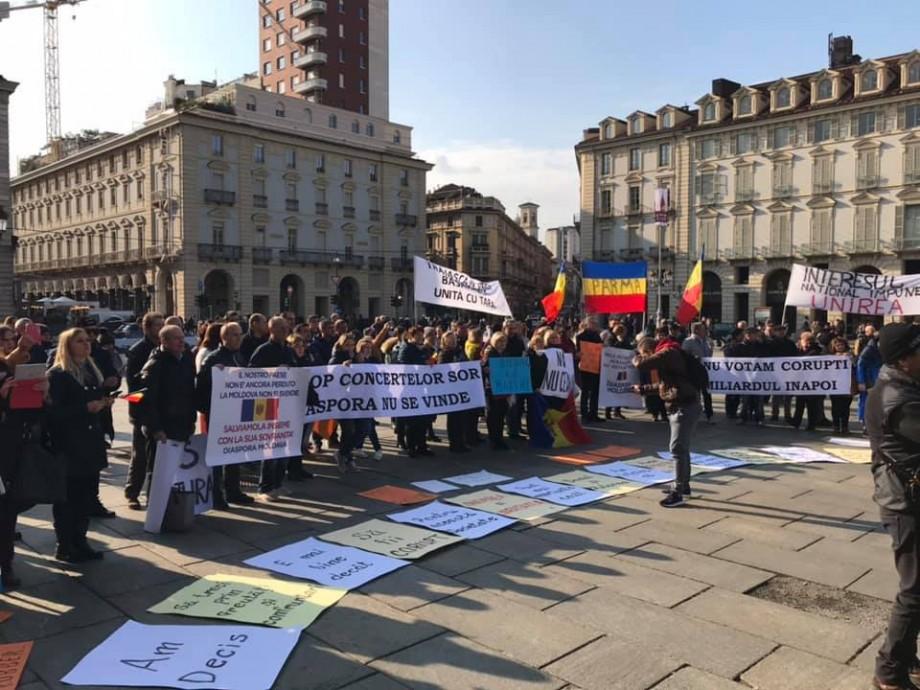 Partidul Șor despre evenimentele de la Torino: Partidele de dreapta divizează