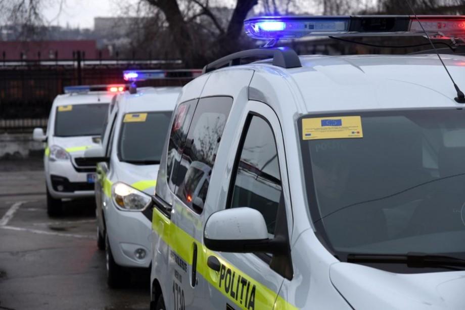 (foto) Inspectoratul General de Poliție a primit 30 de automobile noi. Valoarea totală a achiziției constituie 12,9 milioane lei