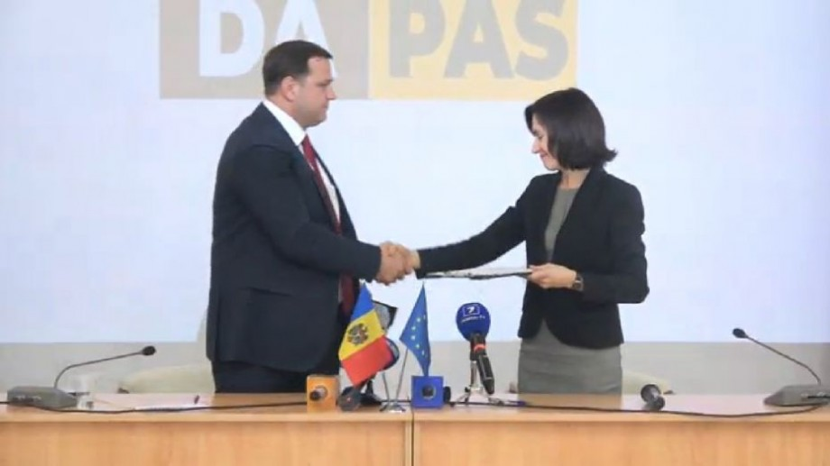 """(video) Partidul Acțiune și Solidaritate și Platforma DA au semnat acordul de constituire a Blocului electoral """"ACUM"""""""