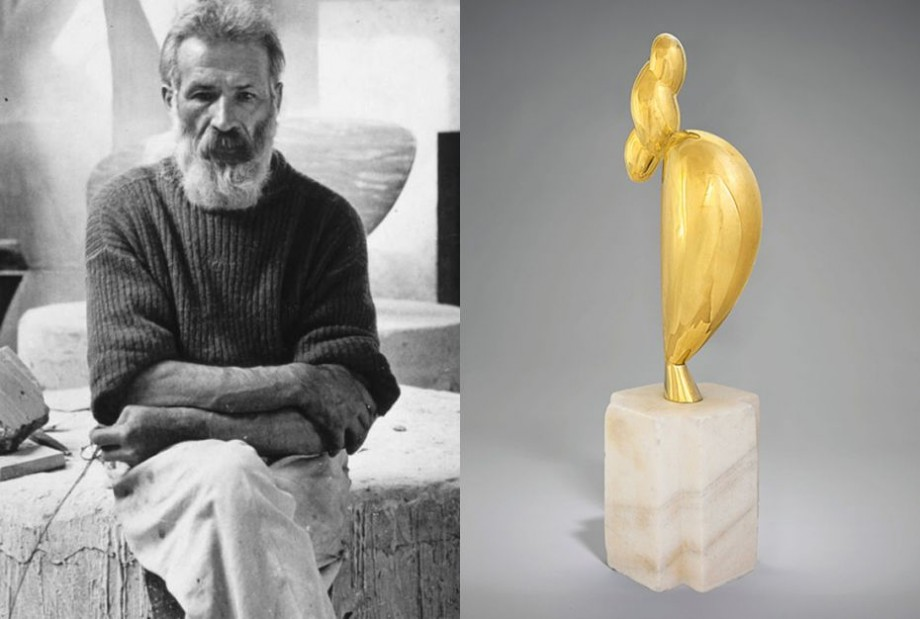 (foto) Lucrarea lui Constantin Brâncuşi este cea mai scumpă sculptură licitată în 2018
