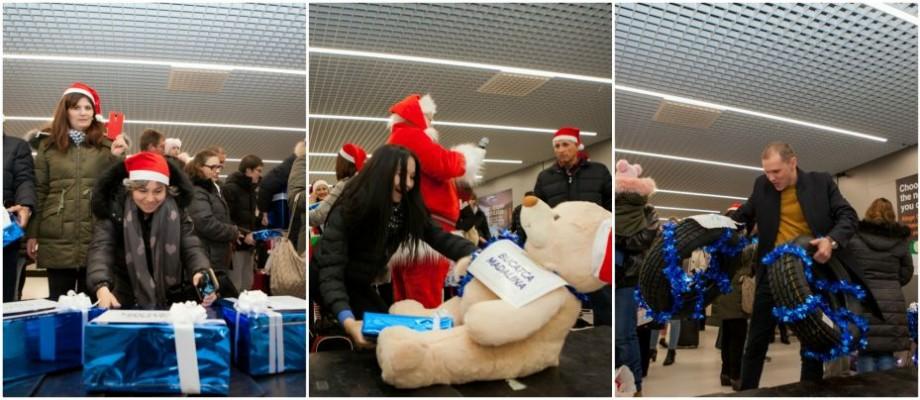 (video) Gest emoționant. De la flori și până la pneuri, mai mulți pasageri au primit cadouri de la Air Moldova chiar în aeroport