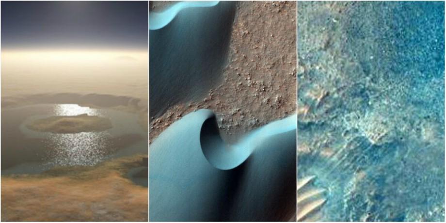 (foto) NASA a realizat 2540 de fotografii noi pe Marte. Cele mai reușite imagini ale planetei roșii