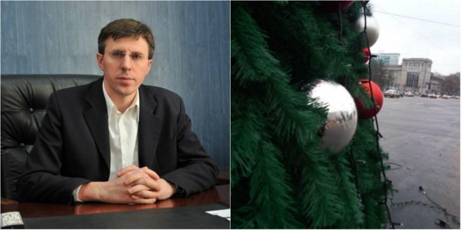 """""""Cum e regimul artificial așa este și bradul """". Cum comentează Dorin Chirtoacă costul pomului de Crăciun din PMAN"""