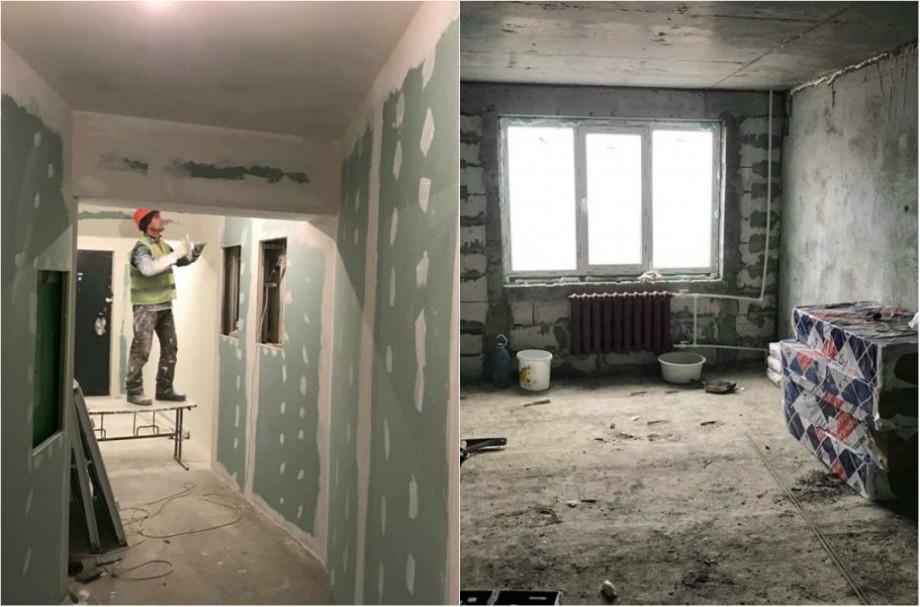 """(foto) """"Locatarii blocului din sectorul Râșcani care a fost afectat de explozie – pot reveni acasă"""". Cum arată blocul renovat"""