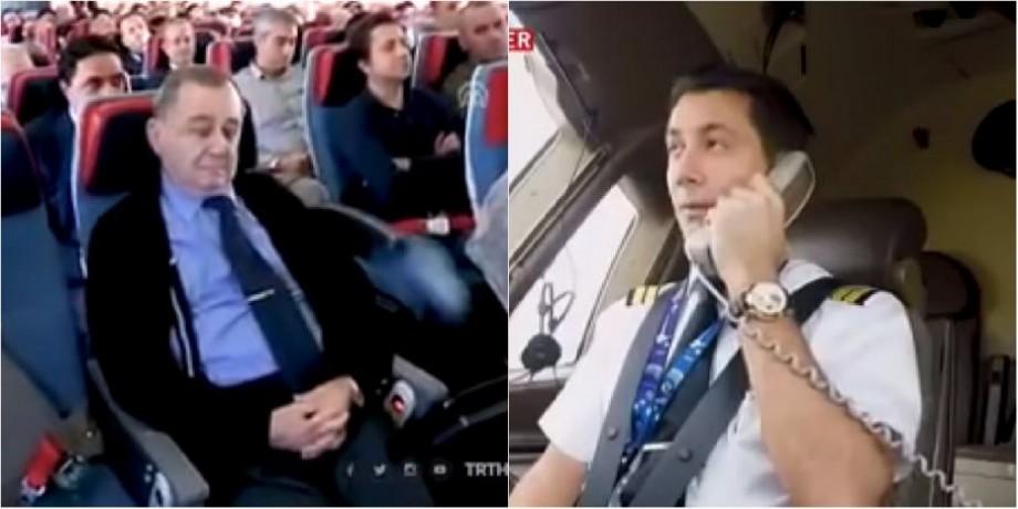 (video) Gestul emoționant al unui pilot a devenit viral pe Internet. Cum și-a arătat bărbatul respectul pentru fostul profesor de școală