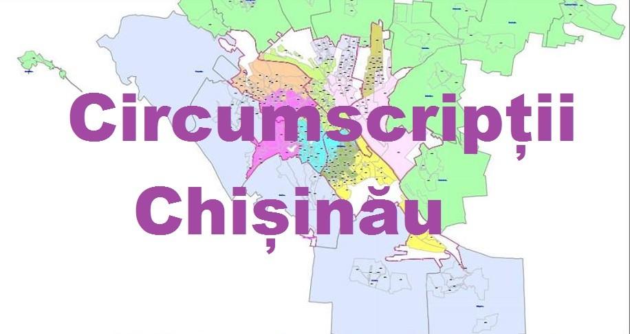 (hartă) Află în care circumscripție din Chișinău vei vota la alegerile parlamentare din 24 februarie 2019