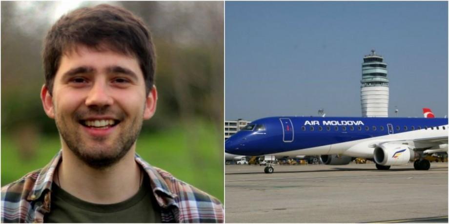 (video, doc) Câte mii de euro este obligată să achite Air Moldova lui Ion Andronache, pentru întârzierea zborului cu 8 ore