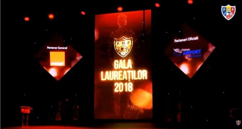 (foto, video) Cine sunt câștigătorii Galei Laureaților Fotbalului Moldovenesc 2018