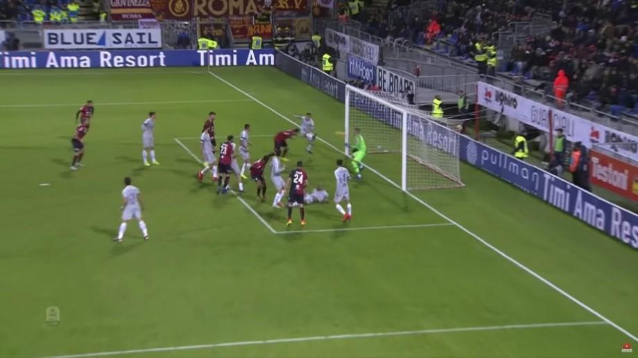 (video) Cagliari s-a salvat în meciul cu AS Roma grație lui Ioniță. Fotbalistul moldovean a marcat un gol și a dat o pasă decisivă