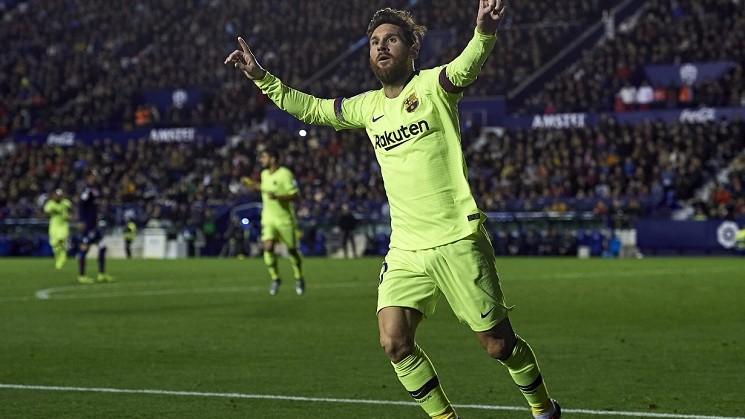 (video) Un hat-trick și două pase decisive. Lionel Messi a înregistrat un nou record în meciul cu Levante