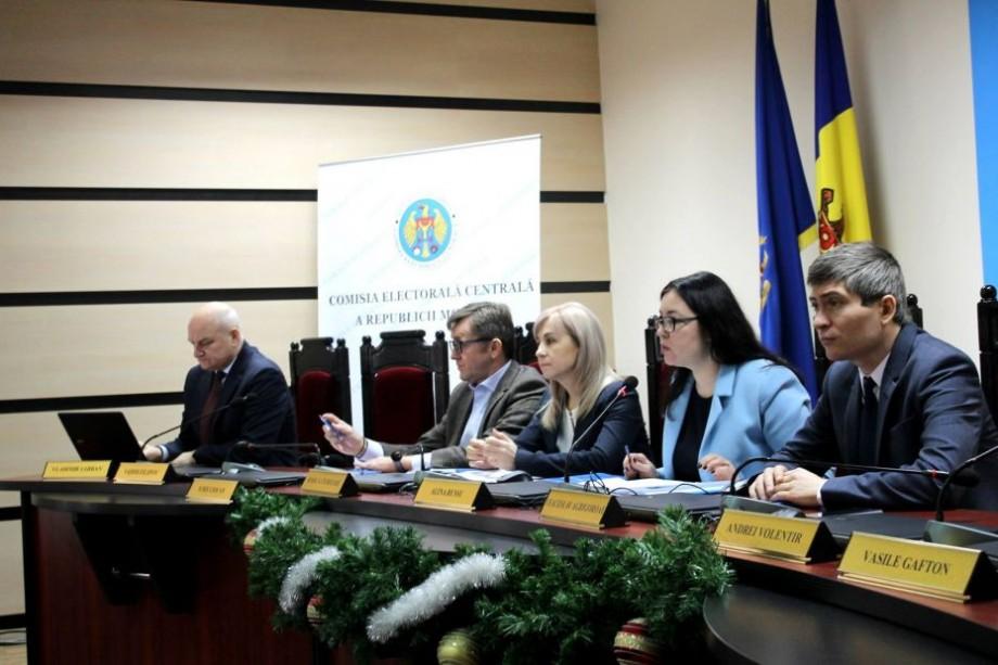 Din 26 decembrie partidele se pot să depună actele pentru participare la Alegerile Parlamentare și Referendumul consultativ
