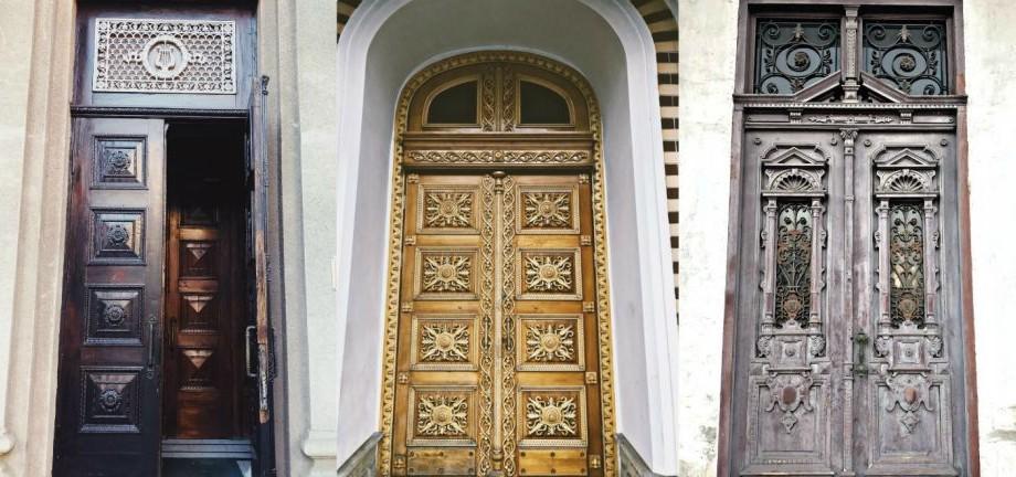 (foto) Ușile vechi de pe cel mai faimos bulevard. Savurează o promenadă virtuală prin centrul Capitalei