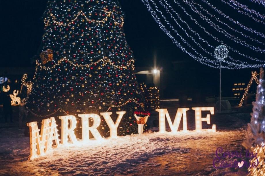 (foto) Iarna inimile nu îngheață! Cum moldovenii își cer în căsătorie persoanele iubite în perioada rece a anului