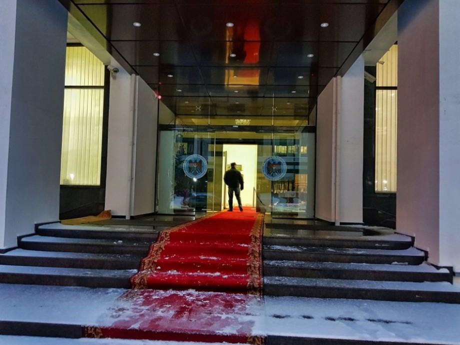 (foto) Cum arată fațada renovată a Ministerului Afacerilor Externe și Integrării Europene