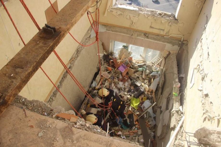 (video) Primăria Chișinău a dat în exploatare 8 din 10 apartamente devastate din blocul de pe bd. Moscova