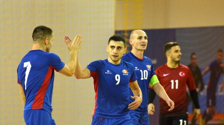 Echipa națională de fotbal în sală va disputa trei meciuri din cadrul preliminariilor Campionatului Mondial 2020