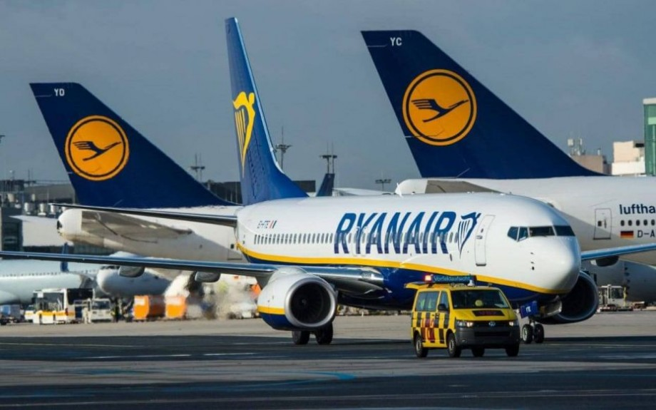 Ryanair a fost votată drept cea mai proastă companie aeriană pentru zboruri scurte