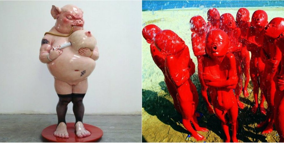 (foto) Sculpturi de pe altă planetă. Cum arată arta contemporană a unui artist chinez