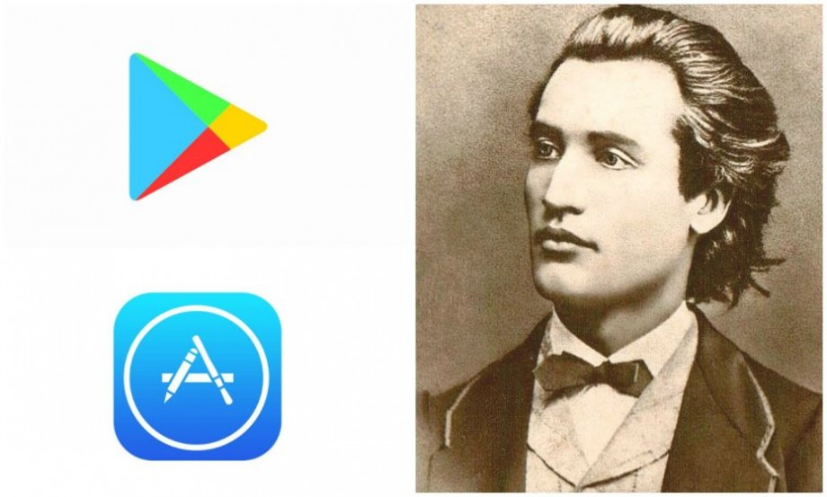 Aplicația de pe App Store și de pe Google Play care îți permite să accesezi gratuit toată opera eminesciană