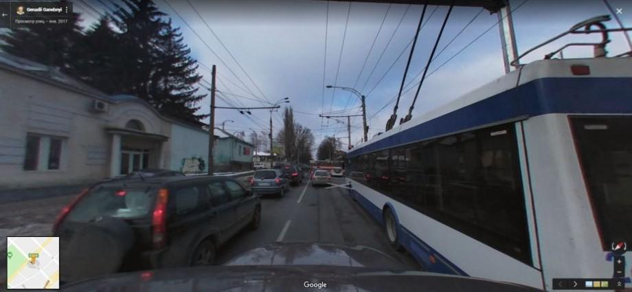(foto) Pe Google Maps au apărut mai multe străzi din Chișinău pe care le poți vizualiza. Care sunt acestea