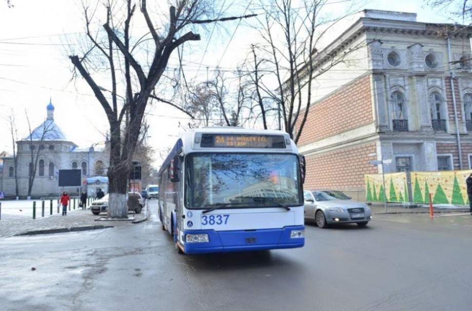 Modificări în itinerarele unor rute municipale de troleibuz. Va fi pusă pe linie și noua rută, spre Ciocana