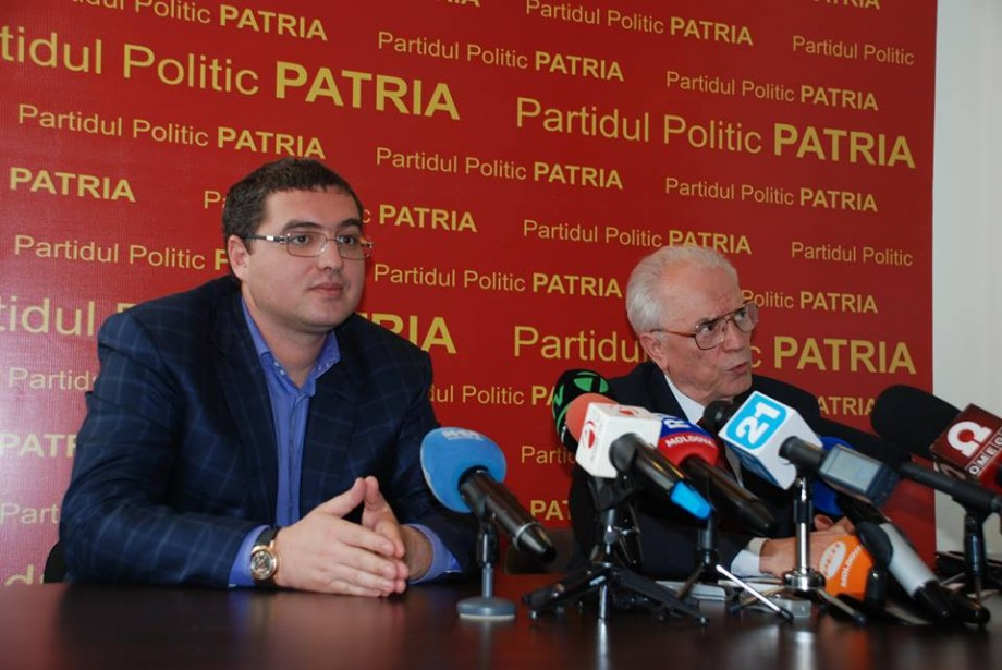 """""""Patria"""" lui Usatîi, care a fost exclusă la alegerile din 2014 vrea să fie înregistrată pentru alegerile Parlamentare din 2019"""