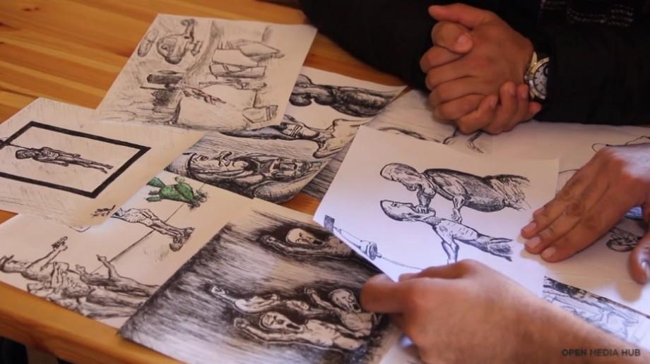 (video) Istoria unui tânăr care critică lucrurile negative din societatea sa prin intermediul desenelor animate