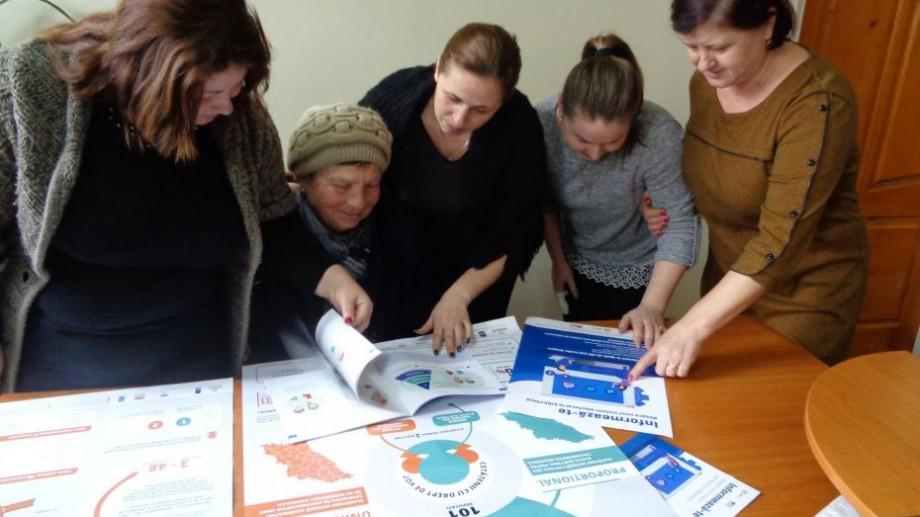 (foto) Bibliotecile publice au informat peste 30 000 de cetățeni despre noul sistem electoral