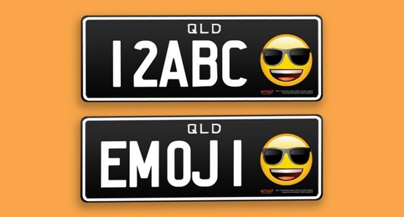 (foto) În Australia au fost lansate primele numere de înmatriculare cu emoticoane