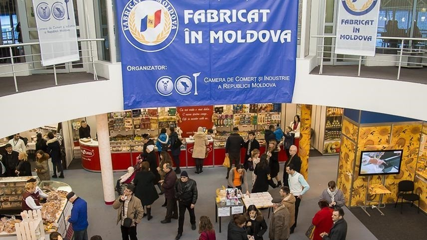 """Un număr record de vizitatori au participat la cea de-a XVIII-a ediție a expoziției """"Fabricat în Moldova"""""""