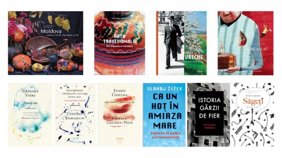 (foto) Lista cărților noi ale autorilor din Moldova care au apărut în librării la începutul anului 2019