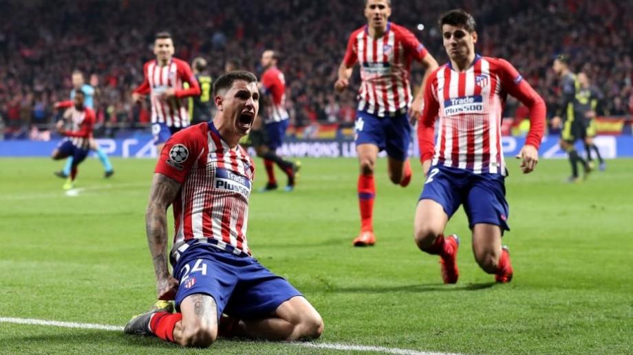 (video) UEFA Champions League. Gimenez și Godin salvatori pentru Atletico Madrid, iar Manchester City obține o victorie grea în deplasare