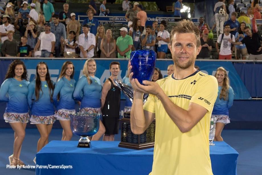"""Tenismenul moldovean, Radu Albot, a câștigat turneului ATP 250 """"Delray Beach Open"""" din SUA"""