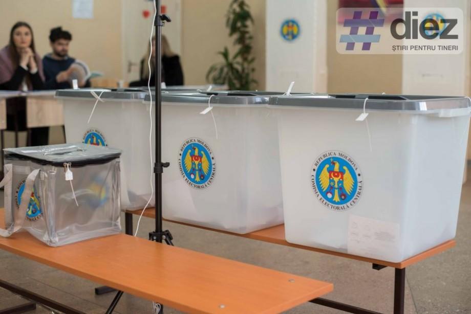 Peste 5.000 de persoane din Chișinău au invalidat buletinul de vot. Topul sectoarelor cu cea mai mare prezență