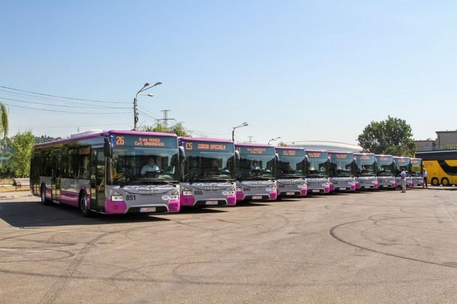 O companie offshore din Ciprul de Nord va livra 31 de autobuze pentru Chișinău