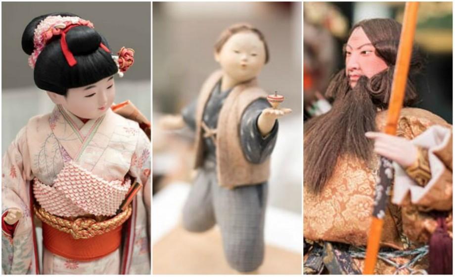 (foto) Confecționate din lemn, lut și porțelan. Cum arată păpușile talisman tradiționale din Țara Soarelui Răsare
