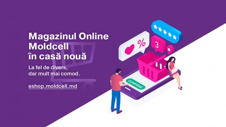 Moldcell prezintă noul magazin online și proiectul Moldcell Unbox