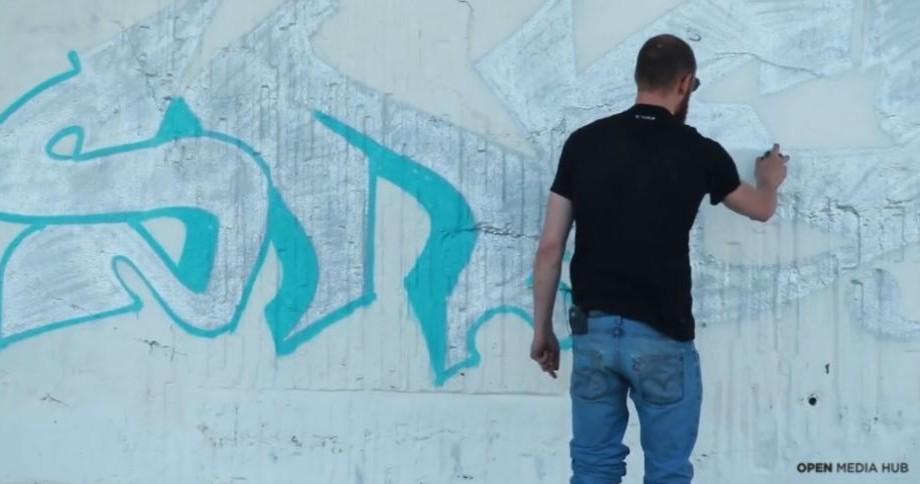 (video) Face artă pe furiș. Istoria unui tânăr din Algeria care se ocupă cu graffiti