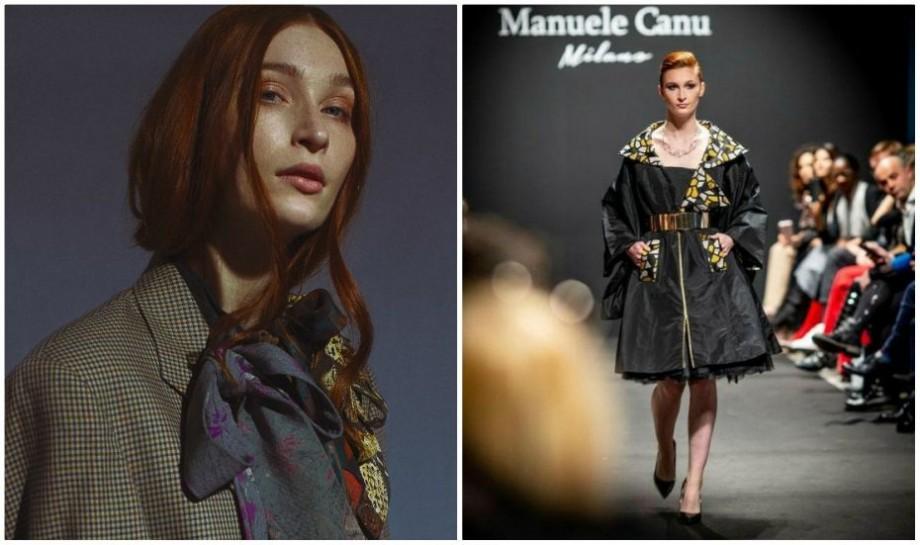 (foto, video) A defilat pentru trei branduri italiene. Cine este moldoveanca care strălucit pe podium la Milan Fashion Week