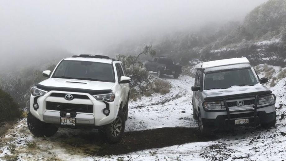 (video) Fenomene meteo ciudate în SUA. A nins în Hawaii şi în Las Vegas