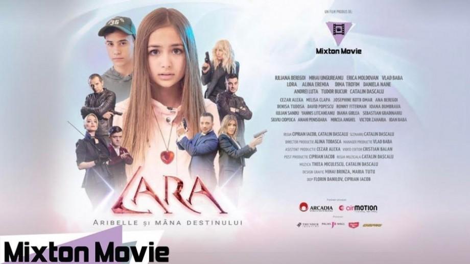 """(video) Iuliana Beregoi protagonista filmului de acțiune """"Lara. Aribelle și mâna destinului"""". Când va apărea acesta pe marele externe"""