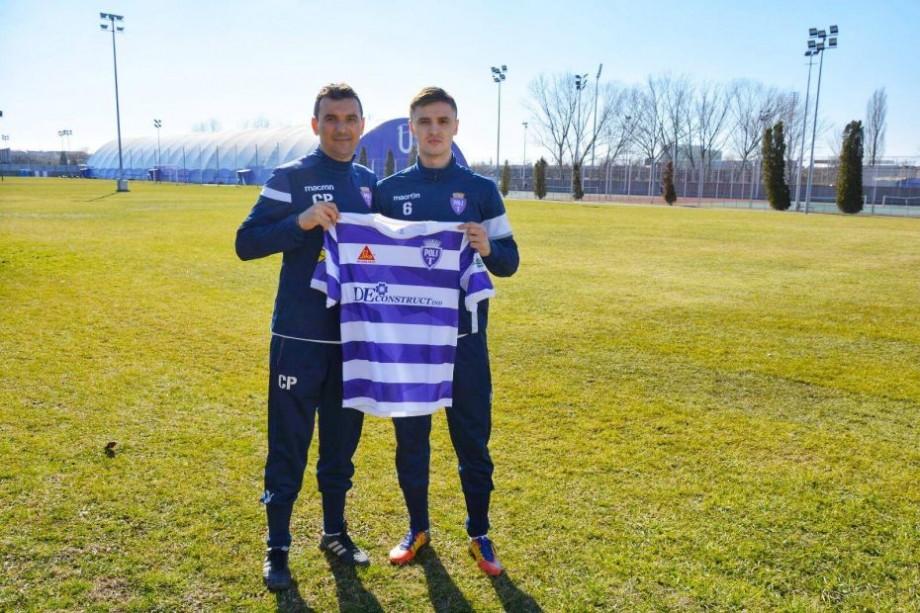 (foto, video) Radu Rogac își va continua cariera în România. Pentru ce club va evolua fotbalistul moldovean